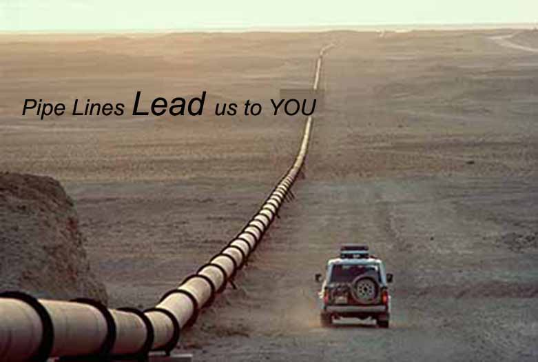 pipe lead us to you